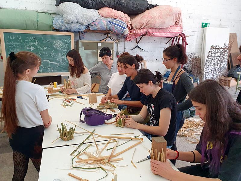 Fibres végétales, art et territoire – Université de Barcelone