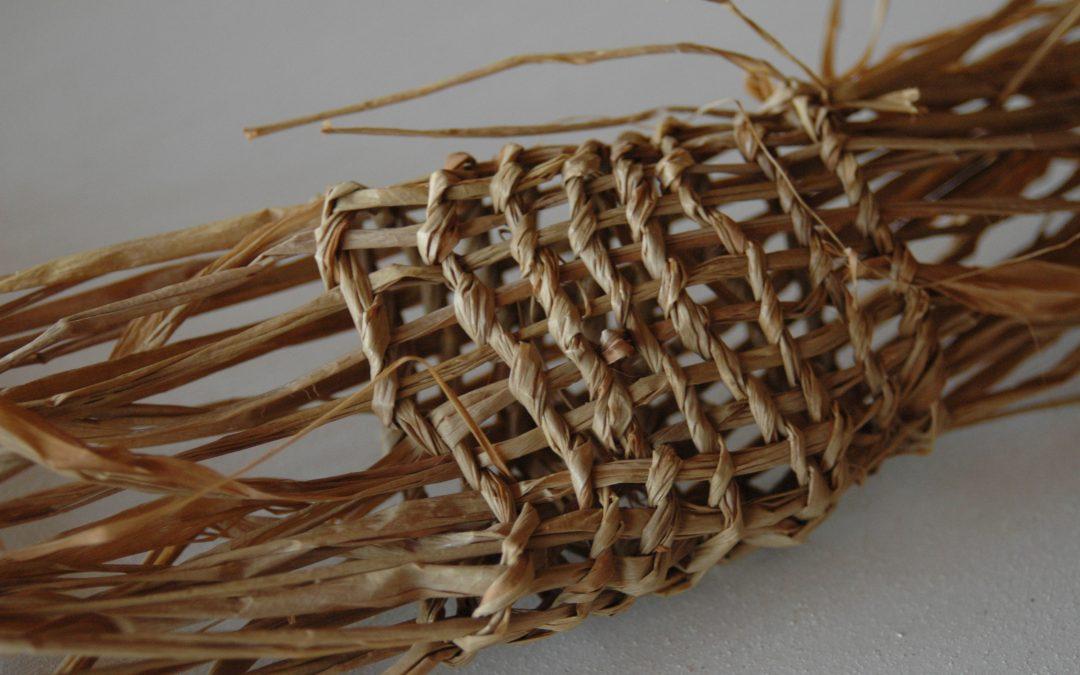 Laboratori de creació i teixit amb fibres vegetals20.06.2020